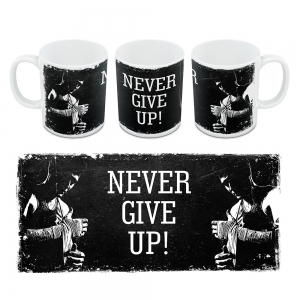 Kubek Motywacyjny Never Give UP 08a